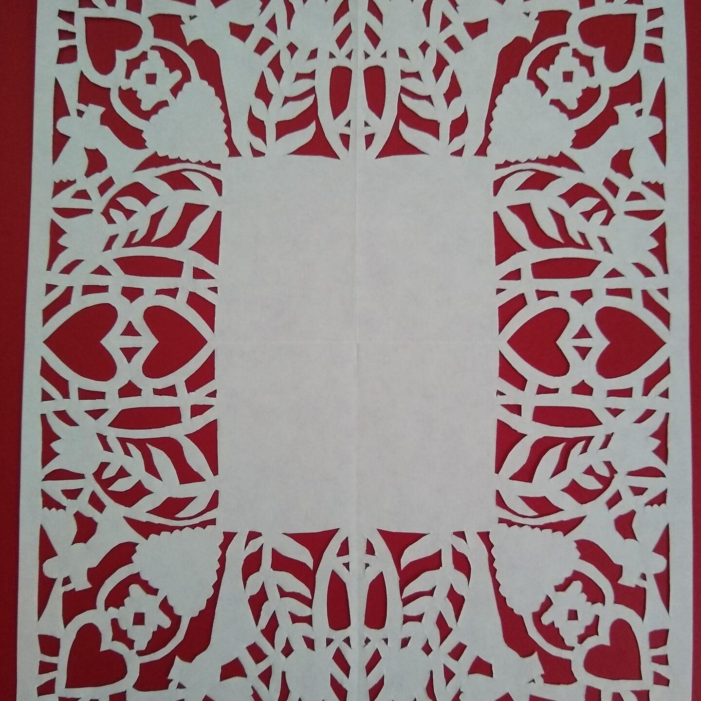 Scherenschnitte-The art of paper cutting