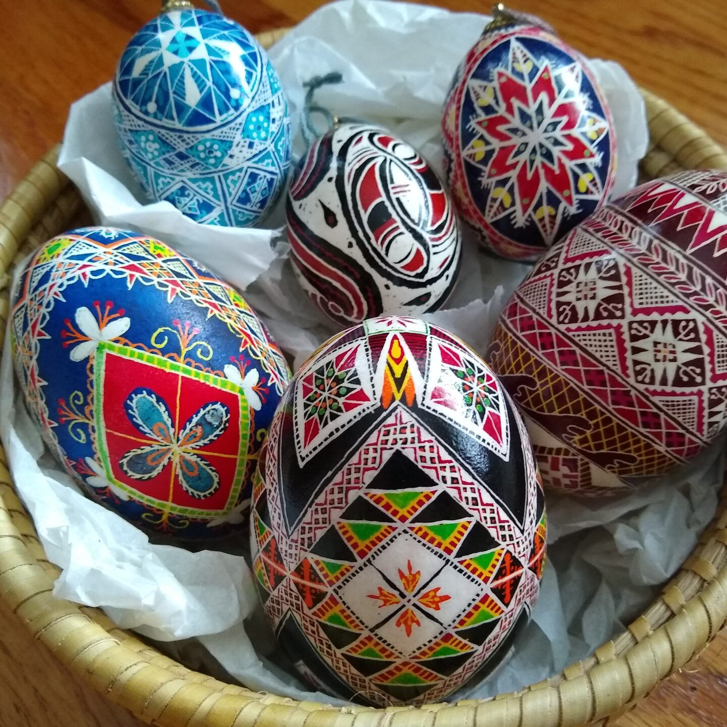 Pysanky & Dyed Easter Eggs